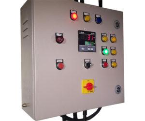 Burner Control Panel